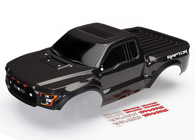 5826A Body, Ford Raptor®, black (heavy duty)/ decals