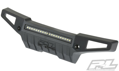 "6342-01 PRO-Armor Front Bumper with 4"" LED Light Bar for X-MAXX®"