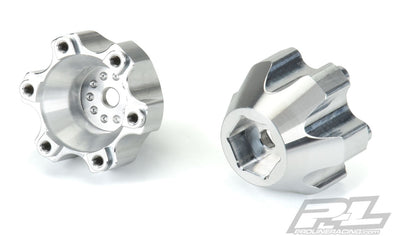 "6346-00 6x30 to 14mm Aluminum Hex Adapters for Pro-Line 6x30 2.8"" Wheels"