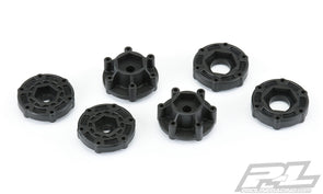 6355-00 6x30 Optional SC Hex Adapters (12mm ProTrac™, 14mm & 17mm) for Pro-Line 6x30 SC Wheels