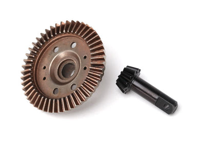 6778 Traxxas Ring Gear, Differential/ Pinion Gear, Differential (12/47 Ratio) (Front)