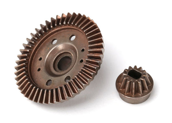 6779 Traxxas Ring gear, differential/ pinion gear, differential (12/47 ratio) (rear)