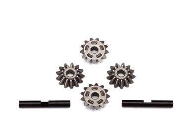 6783 Gear set, center differential (output gears (2)/ spider gears (4)/ spider gear shaft (2))