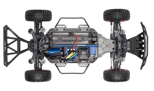 6804R Traxxas Slash 4X4 Platinum: 4WD Electric Short Course Truck
