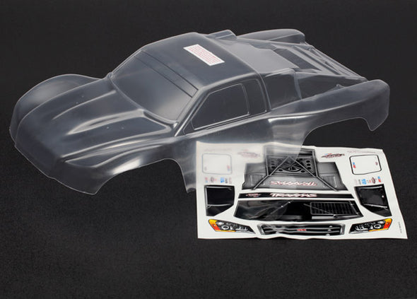 6811 Body, Slash 4X4 (clear, requires painting)/ window masks/ decal sheet