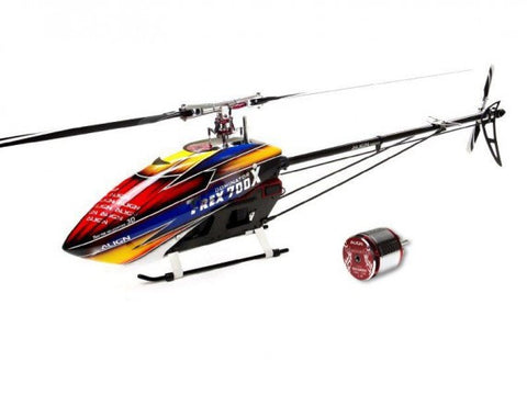 Align T-Rex 700X Dominator Electric Helicopter Kit with 850MX Motor