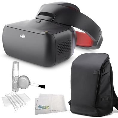 DJI GOGGLES RACING EDITION (NA-INC GOGGLES AND CARRY MORE BACKPACK)