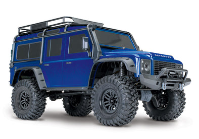 Traxxas TRX4 Land Rover Defender 1/10 Crawler Blue