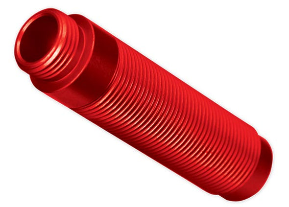 8266R Body, GTS shock, aluminum (red-anodized) (1)