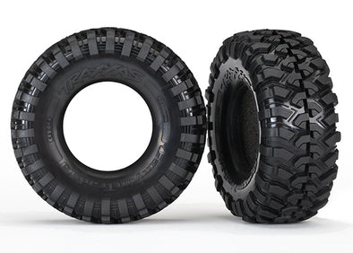 "8270 Tires, Canyon Trail 4.6x1.9"" (S1 compound)/ foam inserts (2)"