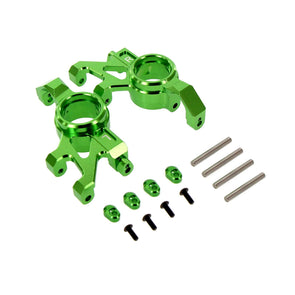 Venom Traxxas X-Maxx Alloy Steering Block, Green by Atomik RC Replaces TRA7737
