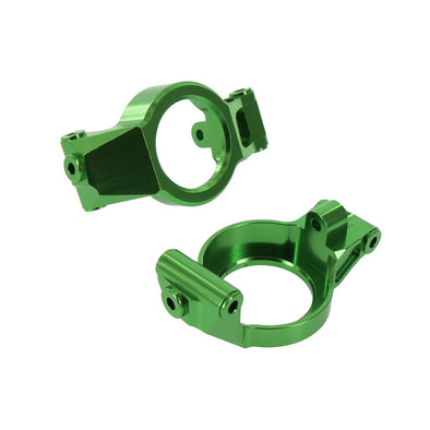 4060GRN TRAXXAS X-MAXX ALLOY CASTER BLOCK, GREEN BY ATOMIK RC REPLACES TRX 7732