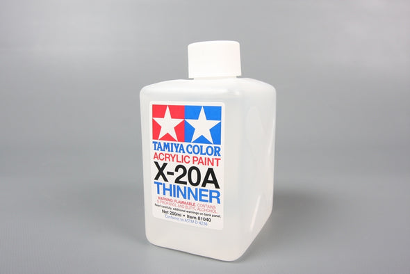 81040 ACRYL/POLY THINNER X-20A 250ML