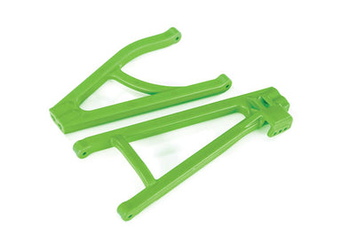 8634G Traxxas Suspension arms, green, rear (left), heavy duty