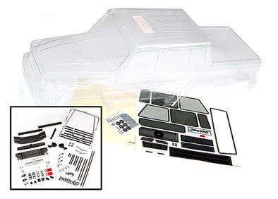 8825 Traxxas Body, Mercedes-Benz G 63 (clear, requires painting)/ decals/ window masks
