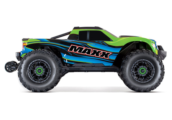 Traxxas Maxx with 4S ESC - Green 1/10 Scale 4WD Brushless Electric