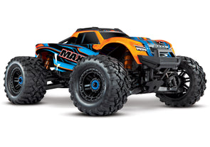 Traxxas Maxx with 4S ESC - Orange 1/10 Scale 4WD Brushless Electric