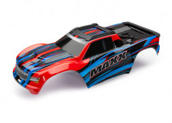 8911P Body, Maxx®, red-x (painted)/ decal sheet