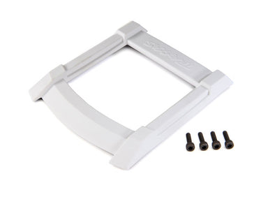 8917A Skid plate, roof (body) (white)/ 3x12mm CS (4)