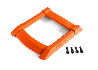 8917T Skid plate, roof (body) (orange)/ 3x12mm CS (4)