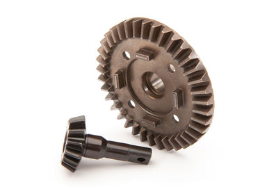 8978 Ring gear, differential/ pinion gear, differential (front)