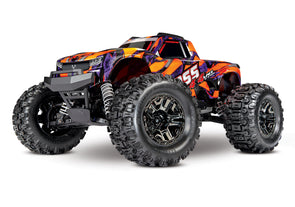 Traxxas Hoss 1/10 Scale 4WD Brushless Orange/Purple **Contact us for more info, contactez-nous pour plus d'info**