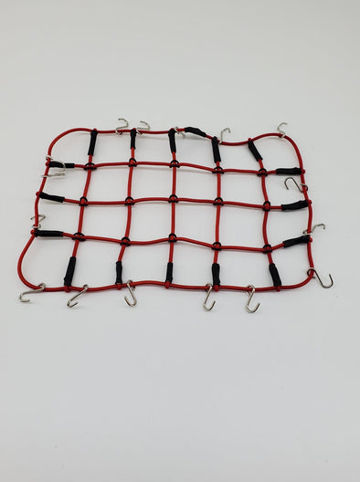 ZH-ACC-028R Elastic luggage net red