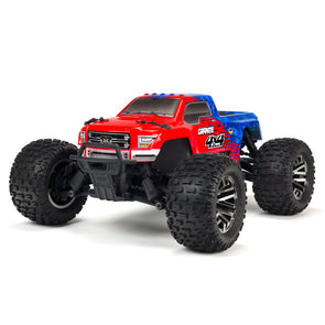 ARA102720T2 1/10 Granite 4X4 3S BLX 4WD MT (Red/Blue)