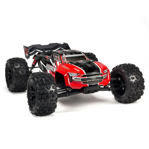 ARA106040T1 1/8 Kraton 6S 4WD BLX Speed Monster Truck RTR Red 2019