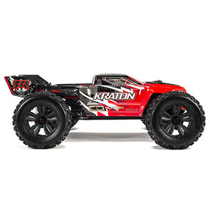 1/8 Kraton 6S 4WD BLX Speed Monster Truck RTR Red