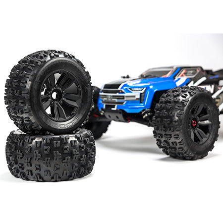 ARA106040T2 1/8 Kraton 6S 4WD BLX Speed Monster Truck RTR Blue 2019 (get a free INDUCTRIX HD)
