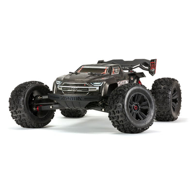 ARA106053 1/8 KRATON 4WD EXtreme Bash Roller Speed Monster Truck, Black (12-07-20)