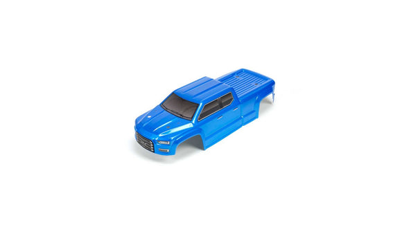 AR402283 BIG ROCK CREW CAB 4X4 3S BLX PAINTED DECALED TRIMMED BODY (BLUE)