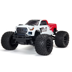 ARA4202V3T2 1/10 GRANITE 4X4 V3 MEGA 550 Brushed Monster Truck RTR Red