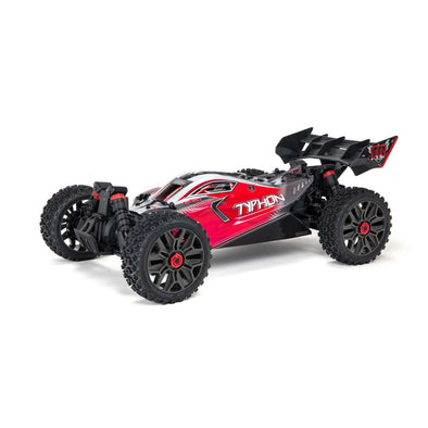 ARA4306V3 1/8 TYPHON 4X4 V3 3S BLX Brushless Buggy RTR, Red