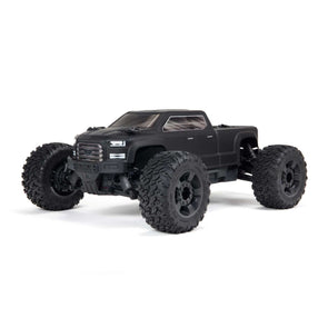 ARA4312V3 1/10 BIG ROCK 4X4 V3 3S BLX Brushless Monster Truck RTR, Black