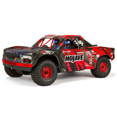 ARA7604V2T2 1/7 MOJAVE 6S V2 4WD BLX Desert Truck with Spektrum Firma RTR, Red/Black (PRE ORDER NOVEMBER 2020)