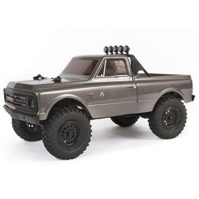 AXI00001T2 1/24 SCX24 1967 Chevrolet C10 4WD Truck Brushed RTR, Silver