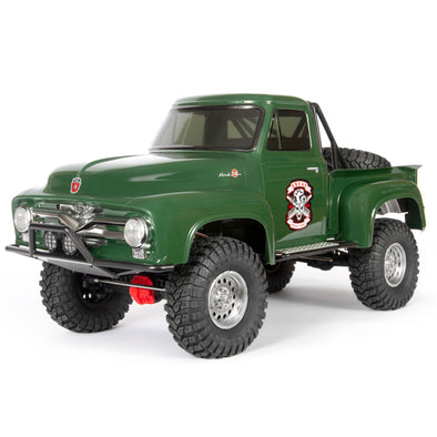 AXI03001T2 SCX10 II 1955 Ford 1/10th 4wd RTR Green
