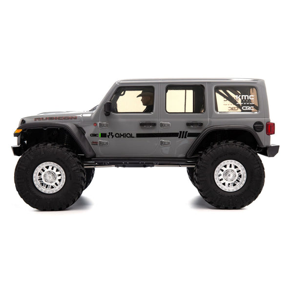 AXI03003T1 1/10 SCX10 III Jeep JLU Wrangler with Portals RTR Gray
