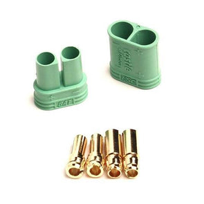 011-0065-00 Polarized Bullet Connector Set, 4mm