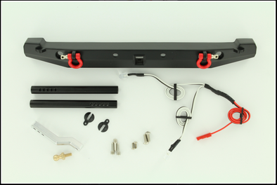ROCK LIZARD DESIGNS ALUMINUM REAR BUMPER W/ LED LIGHTS B TYPE RLD-S17044