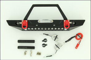 ROCK LIZARD DESIGNS ALUMINUM FRONT BUMPER W/SHACKLE C TYPE RLD-S17042