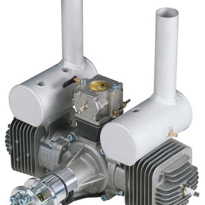 DLEG0170 DLE-170 170cc Twin Gas Engine with Electronic Ignition and Mufflers