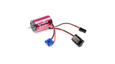 DYNS0501 Brushless Motor/ESC 2-in-1 Combo, 6000Kv: Mini-T 2.0