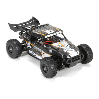 ECX01005T1 ECX 1/18 Roost 4WD Desert Buggy: Black/Orange RTR (Only available with store pick-up)