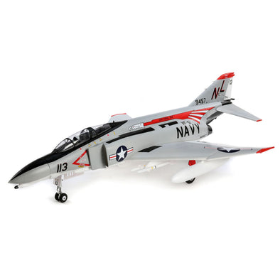 EFL7950 F-4 Phantom II 80mm EDF BNF Basic with AS3X and SAFE Select, 910mm