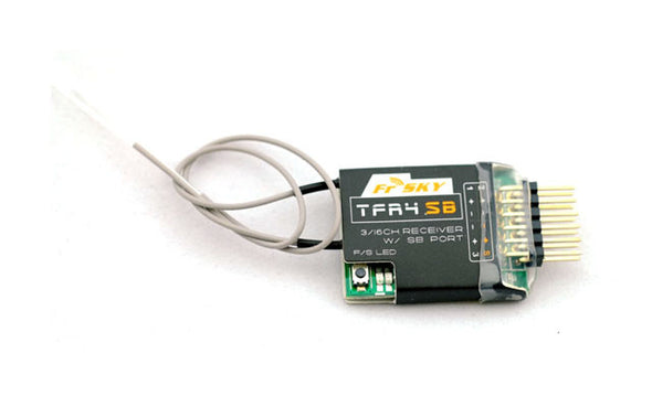 FRSKY 2.4GHZ 3-17CH SBUS RECEIVER FASST COMPATIBLE