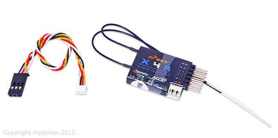 FRSKY 4-16CH SBUS ACCST TELEMETRY RECEIVER W/SMART PORT AND CPPM OUTPUT