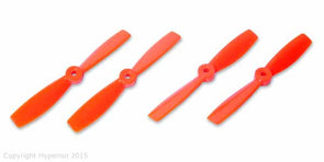 HYPERION BULLNOSE 5 X 4.6 PROPS ORANGE 2 CW, 2 CCW